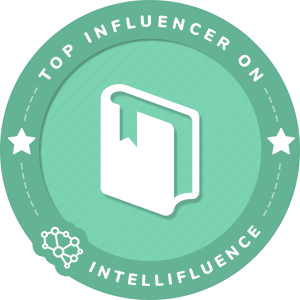 John Martin Top Books & Reading Influencer Badge