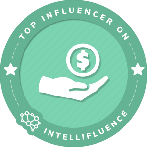 Carlos Rodríguez Top Business Influencer Badge