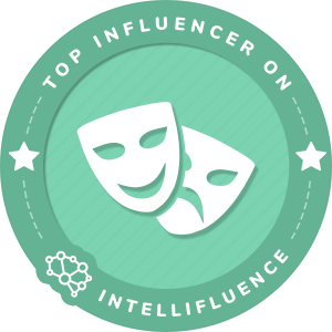 Stuart Edge Top Entertainment Influencer Badge