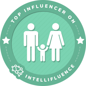 Kelly Dixon Top Family Influencer Badge