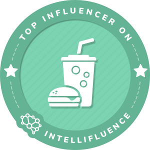 Kelly Dixon Top Food & Drink Influencer Badge
