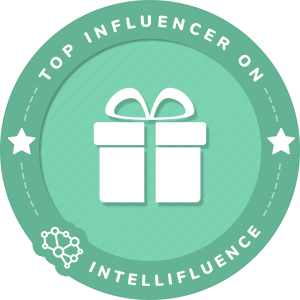 Lisa Heath Top Gifts Influencer Badge