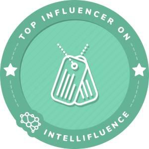 Flora Isabelle Top Military/Armed Forces Influencer Badge
