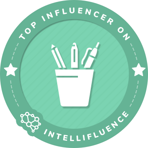 Caryn Harlos Top Office Supplies Influencer Badge