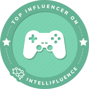 Stuart Edge Top Toys & Games Influencer Badge