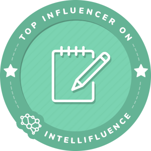 Kelly Dixon Top Writing Influencer Badge