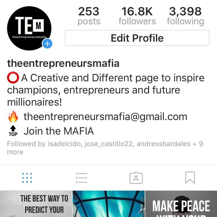 theentrepreneursmafia profile photo