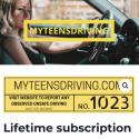 MyTeensDriving Facebook Post