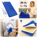 33'' x 17'' XXX-Large Electric Heating Pad with Ultra-Soft Short Plush 6 Heat Settings Auto Shut Off, Fast Heating for Neck Back Shoulder Relief and Cramps