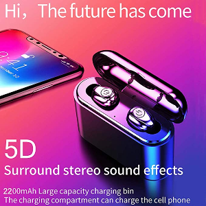 Bluetooth 5.0 Wireless Stereo Earbuds Campaign