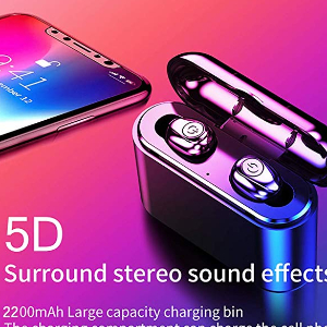 $19.98 Bluetooth 5.0 Wireless Stereo Earbuds (A01) Campaign