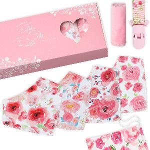 Baby Bandana Drool Bibs Gift Box pack - social review Campaign