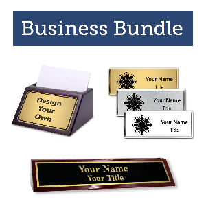 Custom Logo Business Bundle - Promote Your Brand!  Campaign