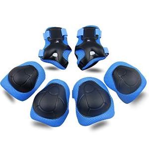 $10.18 Kids Knee and Elbow Pads with Wrist Guards 3 in 1 (A13) Campaign