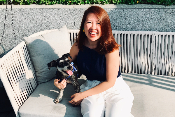 Jie Hui Wong is an influencer